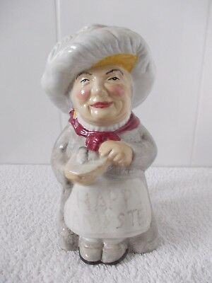 PEARLY QUEEN Shorter & Son Character Style Toby Jug