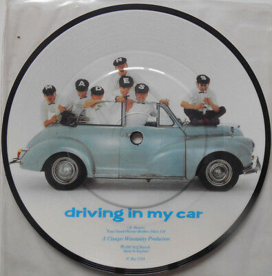 """MADNESS Driving In My Car - Limited Edition 7"""" Picture Disc 1982"""