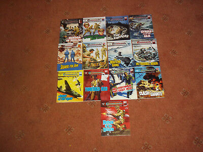 Job Lot Of 13 Commando Comics Silver & Gold Collections Excellent Condition
