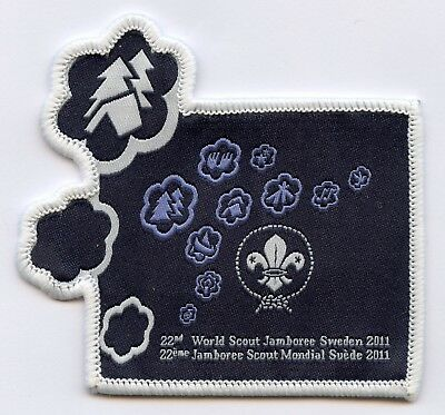 Sweden Patch Official 22th World Scout Jamboree 2011 Badge High Grade !