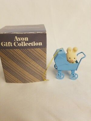 Avon Spring Bunny Collection Bunny in Baby Carriage