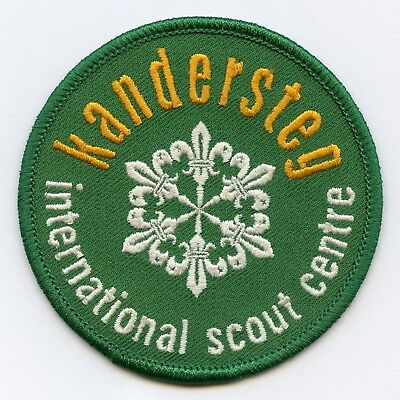 Patch Kandersteg International Scout Center Badge High Grade !!!