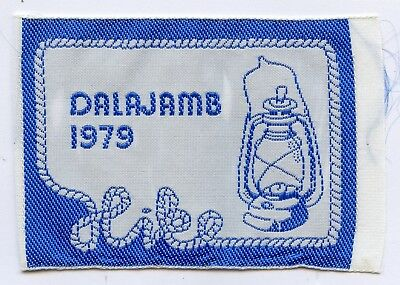 Sweden Swedish Patch Scout Jamboree Dalajamb 1979 Badge High Grade !!!