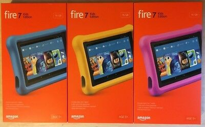 NEW Amazon Fire 7 Kids Edition Tablet 7"