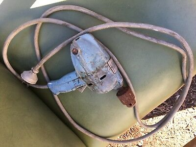 Antique Vintage Drill KBC Power Chief Electric