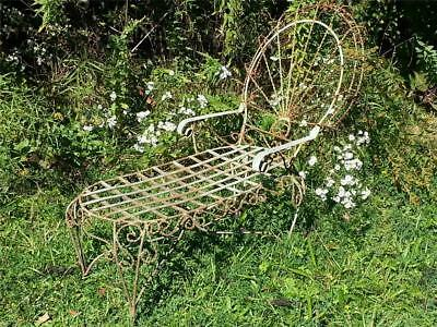 Unusual Twisted Iron Wire Child  / Pet Chaise Lounge  Delivery available
