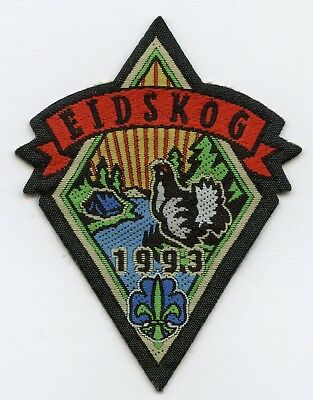 Norway Patch Scout Eidskog 1993 Badge High Grade !!!