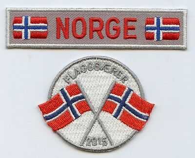 Norway Flags Scout 2 Patch 2015 Badge High Grade !!!