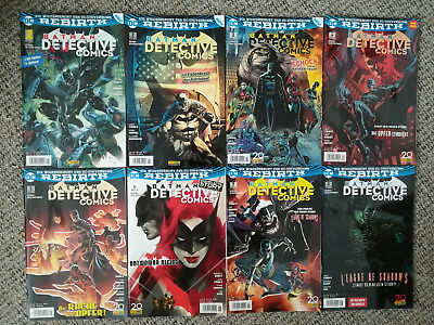 DC Rebirth Batman Detective Comics 1-8