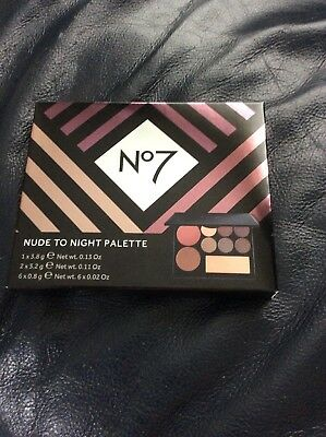 No7 Nude to Night Make up palette - new