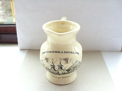 small buchan ware strathisla/chivas regal scotch whisky water jug cream in VGC