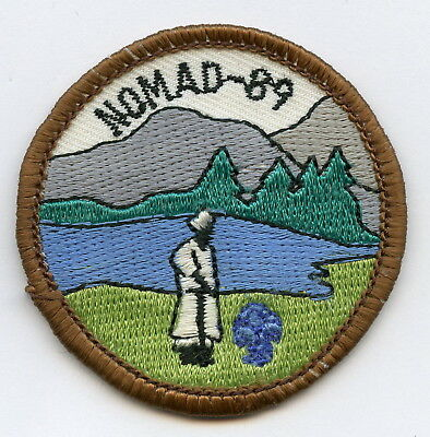 Sweden Swedish Scout Patch Camp Nomad 1989 Badge High Grade !!!