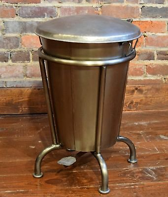 William Sheppee Saloon 13 Gallon Step On Trash Can