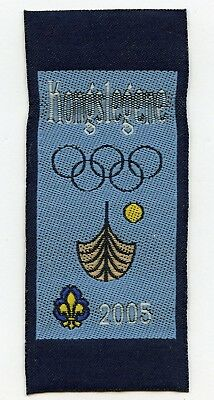 Denmark Danish Scout Patch Camp Kongslegene Badge High Grade !!!