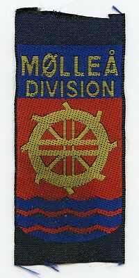Denmark Danish Scout Patch Mollea Division Badge Nice Grade !!!