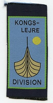 Denmark Danish Scout Patch Camp Kongslejre Badge High Grade !!!