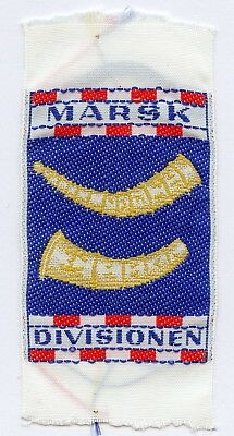 Denmark Danish Scout Patch Camp Marsk Divisionen Badge High Grade !!!