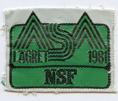 Norway Patch Scout Lagret NSF 1981 Badge Nice Grade !!!