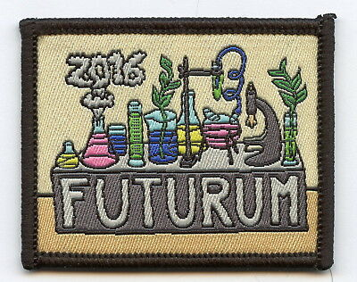 Sweden Swedish Scout Patch Futurum 2016 Badge Nice Grade !!!