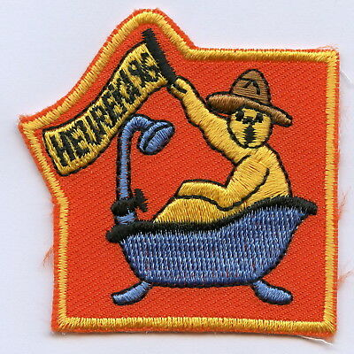 Sweden Swedish Scout Patch Heureka 1996 Badge Nice Grade !!!