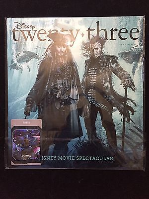 D23 Member Magazine Summer 2017 Pirates Of The Caribbean/Avatar
