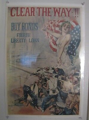 Liberty Bonds Poster, Fourth Liberty Loan, 1964 Time Co Reproduction