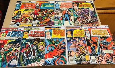Marvel Classic Comics 76/77, 9-Issue Lot 1, 2, 4, 13, 14, 15, 16, 17, 18