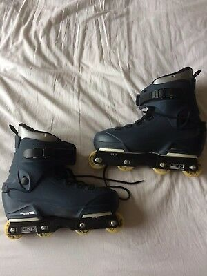 Barely Used Salomon ST10 Aggressive Inline Skates / Rollerblades. UK11.5