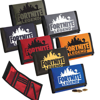 Fortnite Money Coin Note Wallet Purses Present Birthday Gift Kids Boys Girls New