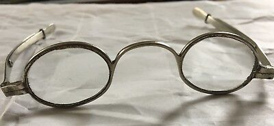 Vintage Victorian Edwardian Extending  Spectacles Glasses Steampunk Stage Prop