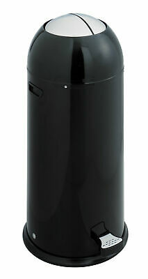 Safco Products Company Shutter 14 Gallon Step On Trash Can