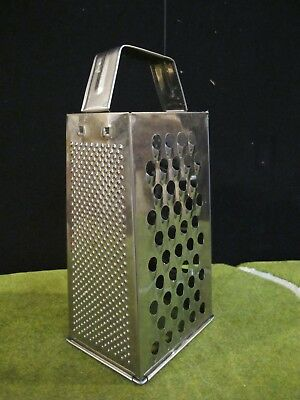 mainstays Metal Cheese Grater  Kitchen Decor/use  9""