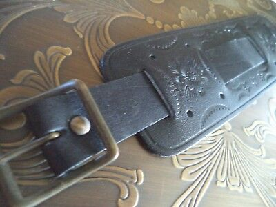 Gas Monkey LARGE 50 mm genuine thick leather vintage hand-made Canada