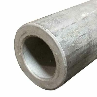 """304 Stainless Steel, Round Tube, 2"""", Wall: 1/2"""", Length: 12"""", Seamless"""