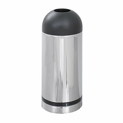 Safco Products Company Reflections Receptacle 15 Gallon Trash Can