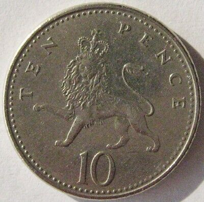 Great Britain - 1992 10 Ten Pence – Circulated