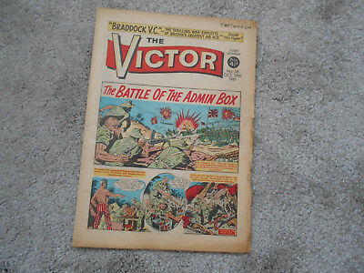 THE VICTOR COMIC  No 36  28th October  1961