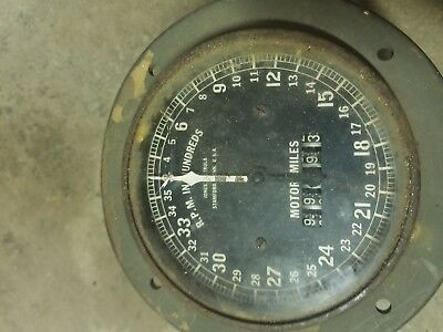 Vintage Military Gauge Jones Motrola Stamford, Conn usa