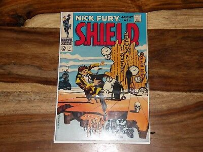 Nick Fury, Agent of SHIELD #7 ~ 1968, Marvel ~ HIGH GRADE SILVER AGE ~ MUST SEE