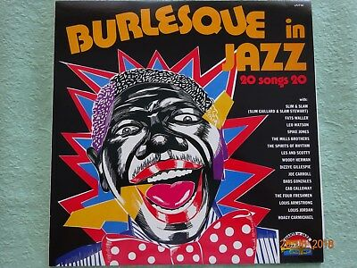 BURLESQUE in JAZZ    1  LP   Jazz      RAR