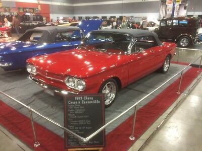 1963 Chevrolet Corvair Custom 1963 Chevrolet Corvair Convertibile