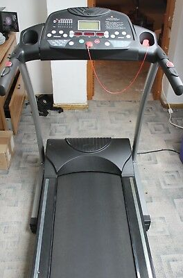Treadmill with incline, heart monitor, adjustable speed