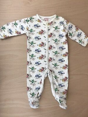 6afb1e4b7 CATH KIDSTON BABY Boy Monsters Sleepsuit   Romper   Hat   Bag Set ...