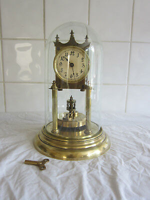 400 day Disc Torsion Anniversary Clock-with Dome-GWO
