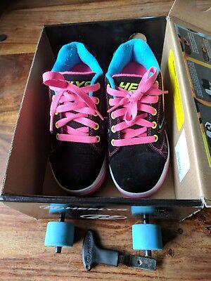 Boxed Heelys uk size 1 skate/trainers great condition boys/girls