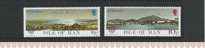Isle of Man (Manx) MNH Stamps 1977 Europa - Landscapes