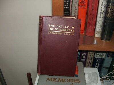 Civil War Book The Battle of the Wilderness 1st Edition US Grant Excellent
