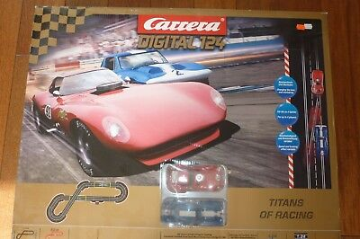 Carrera Digital 124 23607 Titans of Racing Komplettset incl. Autos und Trafo