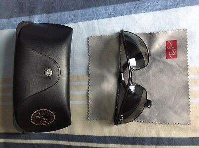 21eef4c4561 RAY BAN RB3119 Olympian 006 48 59cm Polarized Sunglasses Mint Condition -  £87.00
