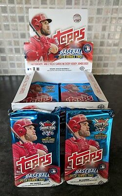 2018 TOPPS Series 2 Jumbo BASEBALL Pack - 50 MLB Cards - New and Sealed Ohtani?